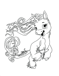 Free Printable Coloring Pages For Adults Unicorns Unicorn Baby Full Size