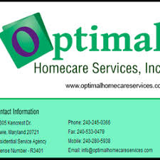 Optimal Homecare Services Inc Home Health Care Kencres