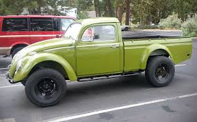 Green VW Truck? AlawysBroke.net - #VW #truck #Bug | Four Wheel ...