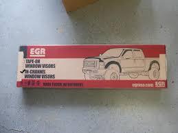 100 Truck Window Visors EGR InChannel Visor Install
