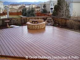 Denver Colorado Landscaping Decks & Patios