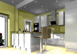 mini kitchen bar design with best recessed lighting and color