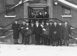 ouverture du bureau de poste bureau de poste facteurs à l ouverture
