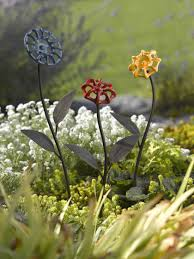 Decorative Hose Bib Handles by Faucet Handle Flowers Metal Garden Art Gardener U0027s Supply