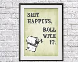 Funny Bathroom Art Etsy by Funny Bathroom Art Etsy