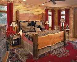 Rustic Country Bedroom Decorating Ideas Fair Bedding