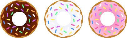 Vanilla clipart donut 5