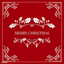 Merry Christmas Badge Design Vector Free Stock Vector 494404
