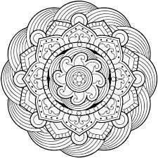 Mandala Coloring Pages For Adults Android Ios And Windows Phone Art Hard