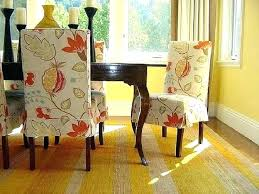 Decoration Dining Room Chair Covers Patterns Chairs Back Diy Seat