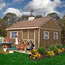 12x20 Shed Material List by Amazon Com Best Barns New Castle 12 U0027 X 16 U0027 Wood Shed Kit Patio