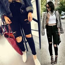 popular skinny boyfriend jeans for women buy cheap skinny