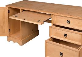 Furinno Computer Desk 11193 by Desk With Drawers On Both Sides Best Home Furniture Decoration