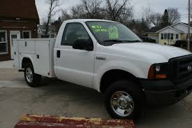 F250 Utility Truck - Service Trucks For Sale