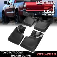 2016-2018 TOYOTA TACOMA Splash Guards Mud Flaps Mudguards Black 4PCS ... Dodge Ram 12500 Big Horn Rebel Truck Mudflaps Pdp Mudflaps Enkay Rock Tamers Removable Mud Flaps To Protect Your Trailer From Lvadosierracom Anyone Has On Their Truck If So Dsi Automotive Hdware 12017 Longhorn Gatorback 12x23 Gmc Black Mud Flaps 02016 Ford Raptor Svt Logo Ice Houses Get Nicer And If Youre Going Sink Good Money Tandem Dump With Largest Or Mack Trucks For Sale As Well Roection Hitch Mounted Universal Protection My Buddy Got Pulled Over In Montana For Not Having Mudflaps We Husky 55100 Muddog Wo Weight