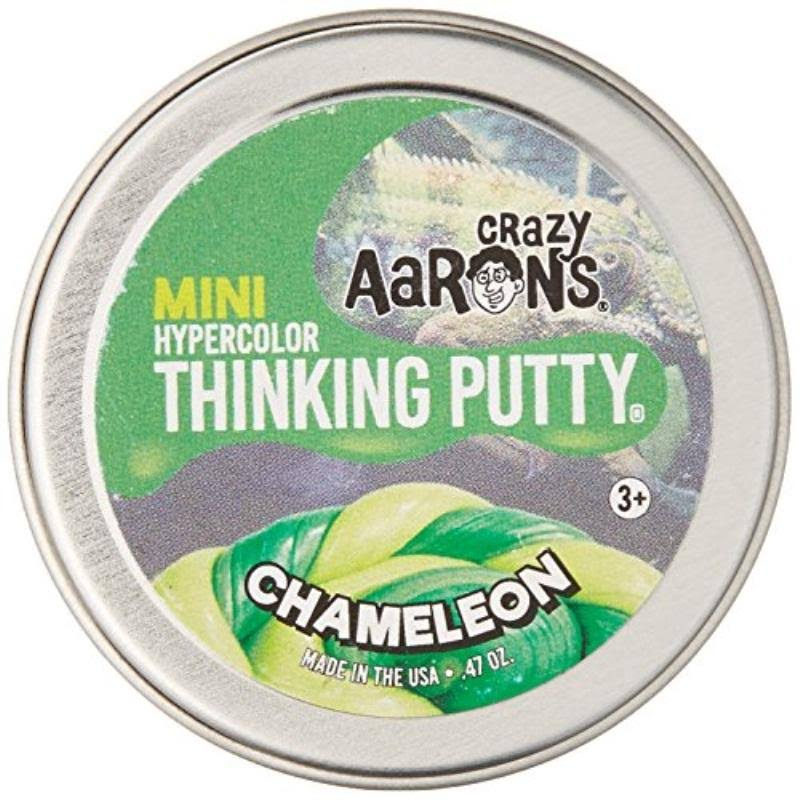 "Crazy Aaron's Thinking Putty - Krypton, Glow in the Dark, 2"" Tin"