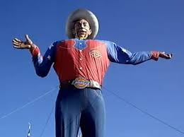 Texas State Fairs Big Tex Burns To Ground Today VIDEO