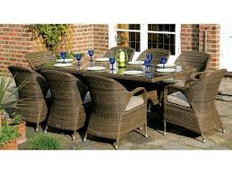 8 Person Outdoor Table by Beguile Image Of Round Patio Table Set Tags Gripping Concept