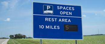 100 Truck Stops In Ohio Telligent Imaging Systems Installs Truck Parking Signs In