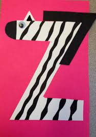 Alphabet Letter Craft Letter Z Zebra Kids Crafts Pinterest