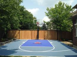 24x26 Basketball Court With