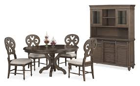 Value City Furniture Kitchen Table Chairs by The Charleston Round Dining Collection Value City Furniture