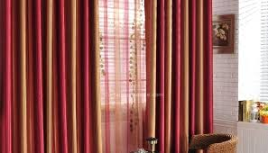 Elegant Red Living Room Curtains For Pleasant Idea All Dining