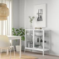 milsbo vitrine weiß 101x100 cm ikea schweiz