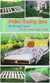 DIY Pallet Swing Bed HomeMadeLifeProject