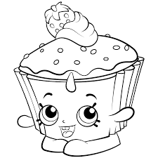 Shopkins Coloring Printable Pages