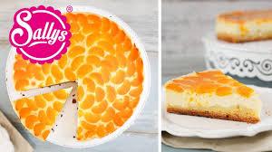 mandarinen schmand kuchen mit vanille genialem guss sallys welt