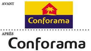 si e conforama conforama votre avis sur le nouveau logo l express l entreprise