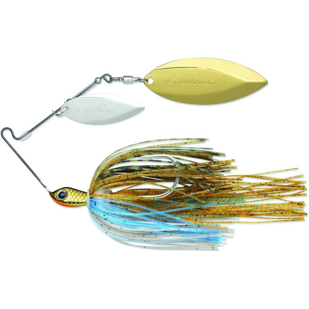 Terminator S38ww94ng Super Stainless Spinnerbait, 3/8 oz