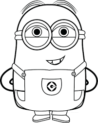 Minions Coloring Book Pdf Colouring Page Printable Best Funny Quotes And Picture Full Size