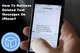How To Retrieve Deleted Text Messages iPhone