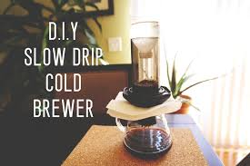 DIY Slow Drip Cold Brewer By Cafe Prima