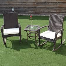 Giantex 3 PCS Rattan Wicker Patio Furniture Set Coffee Table ... The Gripper 2piece Delightfill Rocking Chair Cushion Set Patio Festival Metal Outdoor With Beige Cushions 2pack Fniture Add Comfort And Style To Your Favorite Nuna Wood W Of 2 By Christopher Knight Home Details About Klear Vu Easy Care Piece Maracay Head Java Wicker Enstver Bistro 2piece Seating With Thickened Blue And Brown Amish Bentwood Rocking Chair Augustinathetfordco Splendid Comfortable Chairs Nursing Wooden Luxury Review Phi Villa 3piece