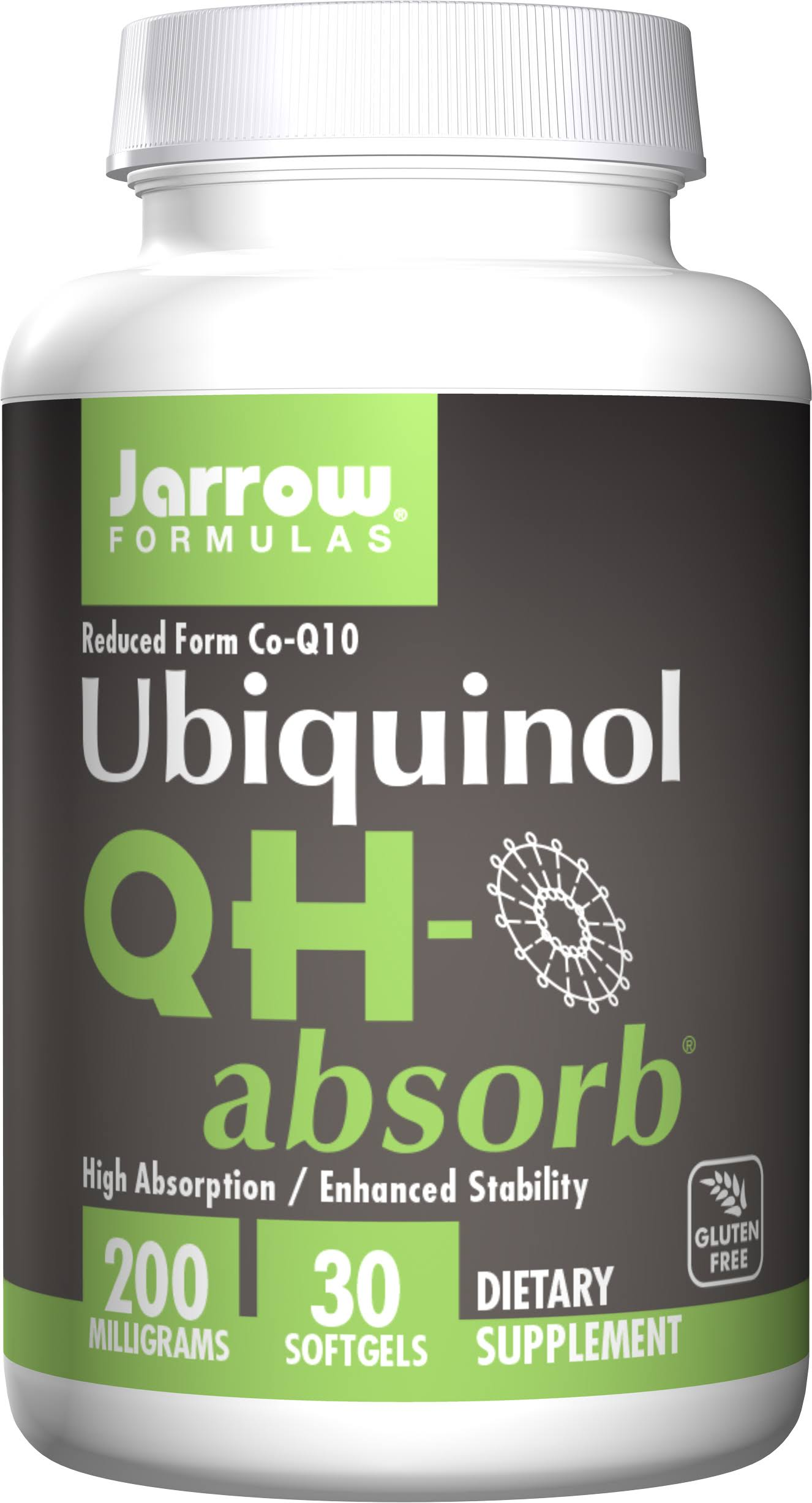 Jarrow Formulas QH-Absorb - 200 mg, 30 ct