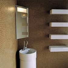 Small Wall Mounted Corner Bathroom Sink by Bathrooms Design Corner Bathroom Sink Double Basin Pedestal Top
