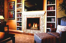 Living Room With Electric Fireplace Decorating Ideas Powder Home Bar Rustic Compact