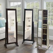 Fashion Meets Function In Kirkland's Full-length Jewelry Armoires ... Jewelry Armoires Bedroom Fniture The Home Depot Armoire Mirror Modern Style Belham Living Hollywood Mirrored Locking Wallmount Mele Co Chelsea Wooden Dark Walnut Amazoncom Powell Classic Cherry Kitchen Ding Natalie Silver Top Black Options Reviews World Southern Enterprises Mahogany