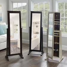 Tilting Bathroom Mirror Bq by Fashion Meets Function In Kirkland U0027s Full Length Jewelry Armoires