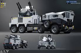 100 Aaa Truck ArtStation Dirty Bomb CDA AAA Adam Baines