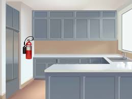 100 Kitchen Tile Kitchen Grease Net Household by 3 Ways To Prevent Accidents In The Kitchen Wikihow