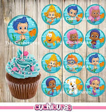 Bubble Guppies Cake Decorations by Best 25 Bubble Guppies Cupcakes Ideas On Pinterest Bubble