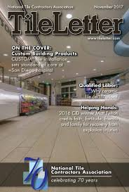 coverings news tileletter
