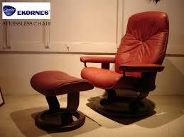 Ekornes Stressless Governor And Senator Recliner Chair Lounger