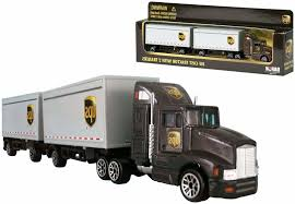 100 Ups Truck Toy Daron Real S UPS Tandem Tractor Trailer