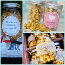Popcorn In Mason Jars