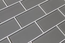 4x12 Subway Tile Spacing by Pebble Gray 3x6 Glass Subway Tiles U2013 Rocky Point Tile Glass And